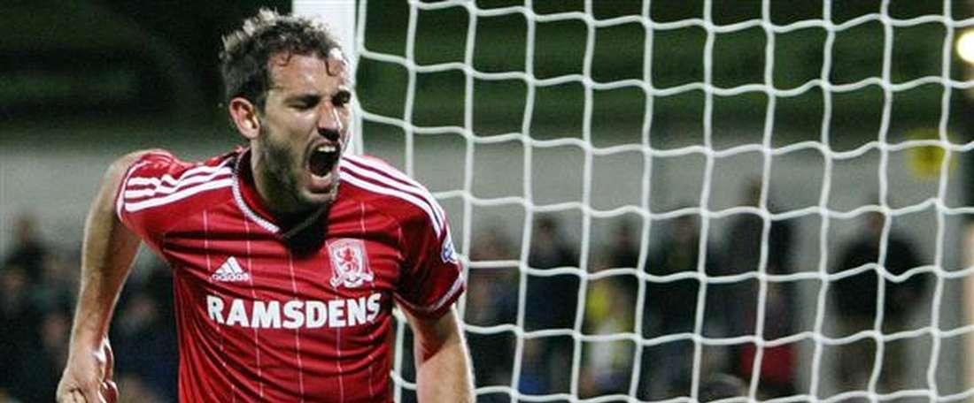 Stuani rescata al 'Boro'. MiddlesbroughFC