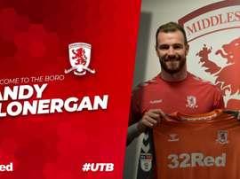 Lonergan will compete with Darren Randolph for the No. 1 shirt. Boro