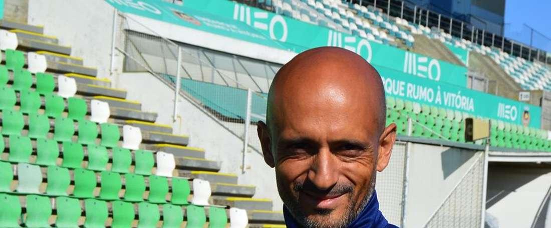 O técnico ficou orgulhoso da exibição da sua equipa. Facebook/Rio Ave