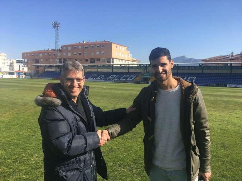 Nieto lamenta el empate ante el Castellón. CDAlcoyano