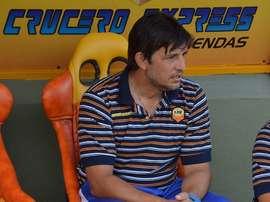 Miguel Angel Salinas ha renovado como técnico de Crucero del Norte. PrimeraEdicion/M.Colman