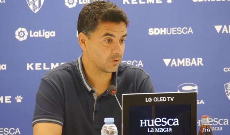 La SD Huesca se enfrenta a la Ponfe. Captura/SDHuesca