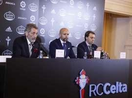 Cardoso confía en enderezar el rumbo. RCCelta