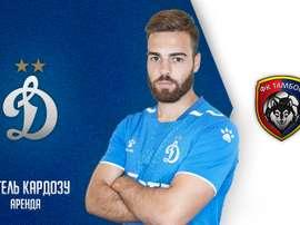 Miguel Cardoso rejoint le club russe Tambov. Twitter/FCDM_oficial