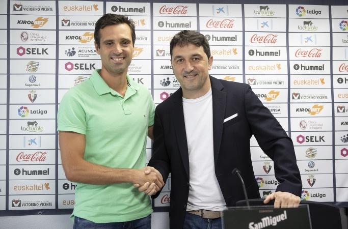 Miguel Flaño será una esponja en Osasuna. CAOsasuna