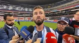 Layún rajó contra México: 'Me apuñalaron por la espalda'. Captura/TVCDeportes
