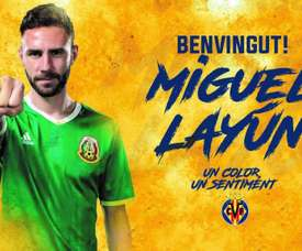 Layún a signé pour trois saisons. VillarrealCF