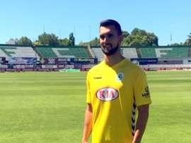 El Vitória de Setúbal hace oficial el fichaje de Miguel Lázaro. VitoriaFC