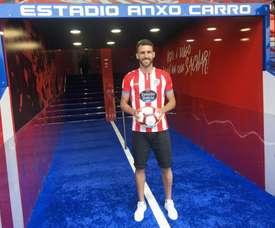 Vieira, convertido en nuevo jugador del Lugo. CDeportivoLugo