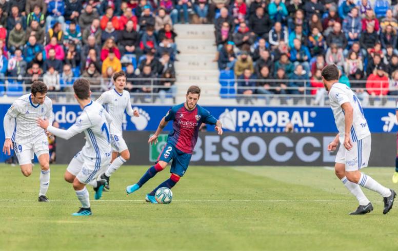 El Oviedo quiere su tercera victoria consecutiva. SDHuesca