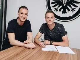 Gacinovic ha renovado su contrato. Eintracht