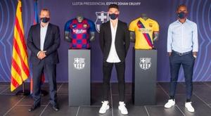 Mika Mármol assinou sua renovação com o Barcelona. FCBarcelona