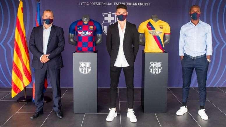 Mika Mármol extendió su contrato hasta 2023. FCBarcelona