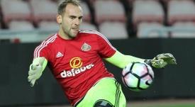 O internacional sub-20 luso não foi muito feliz em Inglaterra. Twitter/Sunderland