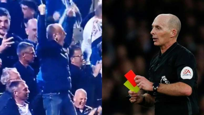 fc2ffa58023d3 Pin Mike Dean had a great time in the away end on Monday night. EFE