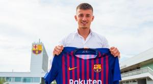 El Barça B ficha a un jugador holandés. Twitter/FCBarcelonaB