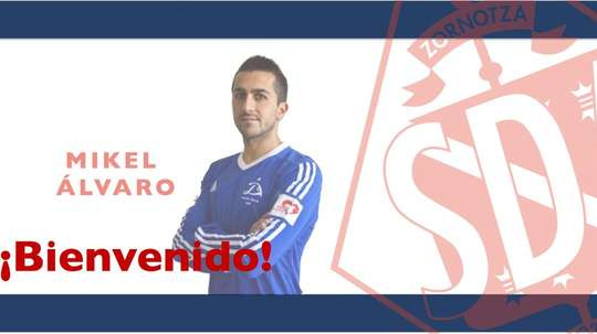 Mikel Álvaro jugará en el Amorebieta. Amorebieta
