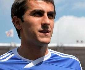 Mikel llega al Amorebieta tras haber pasado por medio mundo. DynamoTbilisi
