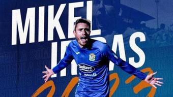 Mikel Iribas renueva dos temporadas con el Fuenlabrada. C. F. Fuenlabrada