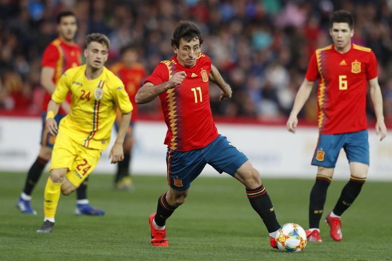 Oyarzabal y Fabián se entrenaron con la Sub 21. SeFutbol