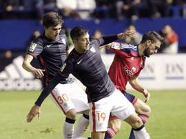 Mikel Vesga, durante un partido. @MikelVesga19