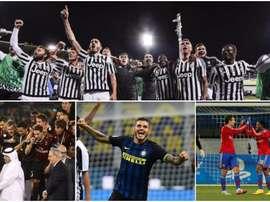 Milan, Inter, Juventus and CSKA. BeSoccer
