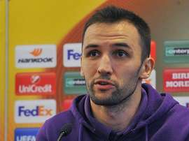 Badelj during a press conference. Twitter