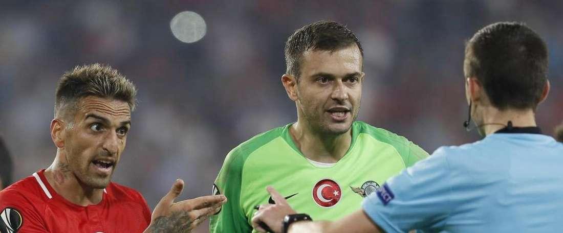 Lukac pasó seis meses sin disputar un solo partido. EFE