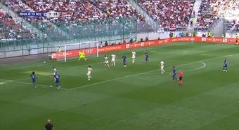 Bale asoma la cabeza en un Madrid de notable. Captura/RealMadridTV