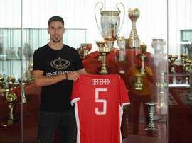 Degenek has had a rollercoaster ride to this point in his life and career. TWITTER/CRVENAZVEZDAAFK