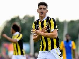 Milot Rashica muda do Vitesse pelo Werder Bremen. Vitesse