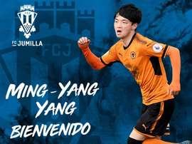 Ming-Yang, de ascendencia surcoreana, nació en Suiza. Twitter/FCJumilla