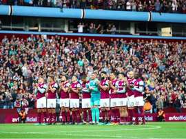 Villa and Forest played out an historic 5-5 draw. TWITTER/AVFCOFFICIAL