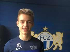 Miro Muheim jugará cedido en el Zúrich la segunda mitad de la temporada. ZúrichFC