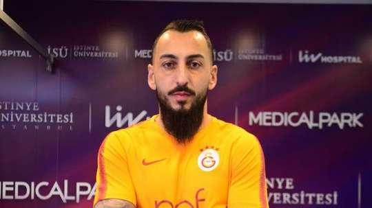 Mitroglou rejoint le Galatasaray. Capture/Galatasaray