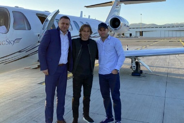 Modric has won it. Twitter/LukeModric10