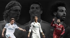 Modric, Ronaldo and Salah nominated for the prestigious award. UEFA
