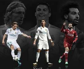 Modric, Cristiano y Salah, indicados pela UEFA. UEFA