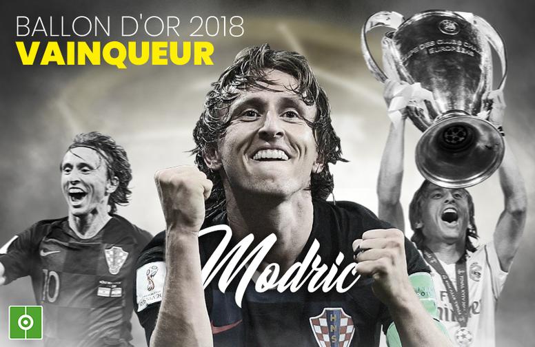 Luka Modric, Ballon d'Or. EFE