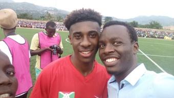 Amissi, orgullo de Burundi. Twitter/FernandHakizim2