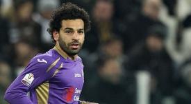 Mohamed Salah fue uno de los que se fue de la Fiore. AFP