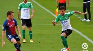 El Racing derrotó a la SD Huesca. LaLiga