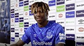 Moise Kean é do Everton. Everton