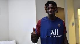Moise Kean é o novo atacante do Paris Saint-Germain. PSG_Inside