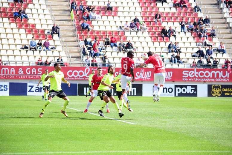 El filial del Córdoba se llevó los tres puntos de la Nueva Condomina. RealMurciacfsad