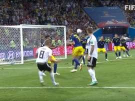 Kroos revivió temporalmente a Alemania con su gol a Suecia. FIFATV