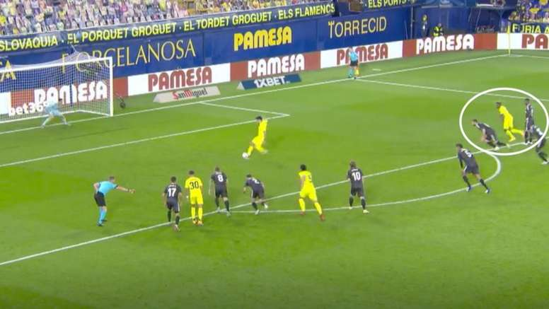 ¿Debió el árbitro mandar repetir el penalti de Gerard Moreno? Captura/MovistarLaLiga