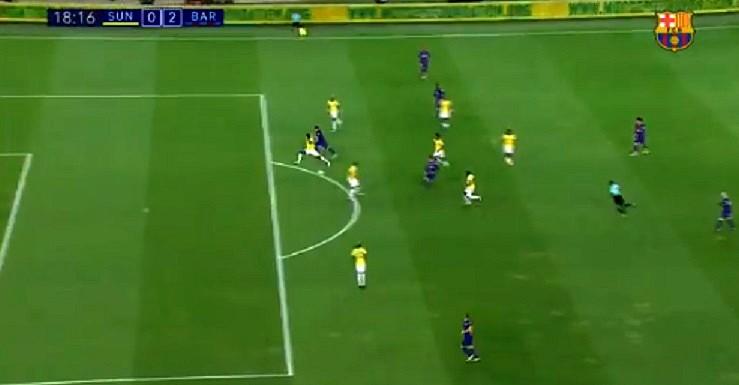 Luis Suárez no faltó a su cita con el gol. Captura/FCBarcelona