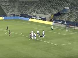 LA Galaxy acabó ganando el partido por 4-1. LAGalaxy