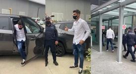 Morata a passé sa visite médicale avec la Juventus. Captura
